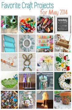 Great Craft Ideas – May 2014