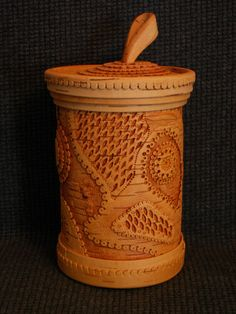from birch bark