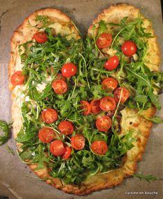 #pizza #roquette #tomates #mozzarella