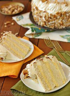 Burnt Almond Cake - SugarHero!
