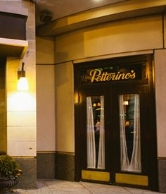 Petterino's is the perfect complement to an evening in Chicago's theatre district