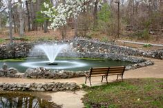 Springbrook Park Fountain - Alcoa, TN