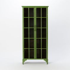 Iron & Glass Collector's Cabinet in House+Home HOME DÉCOR Furniture Storage+Accents at Terrain