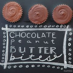 Pen N' Paperflowers: SUGAR | Chocolate Peanut Butter Bites