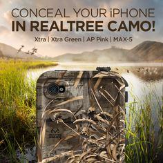Realtree-outdoors-iphone-case. #hunting