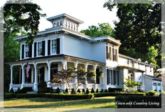 The Classic White House in Historic Geneva, Illinois - Town & Country Living