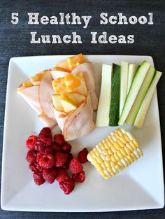 5 Healthy School Lunch Ideas--- or lunch for me.