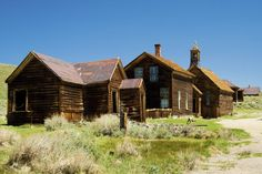 Get spooked by an Old West ghost town in Bodie.