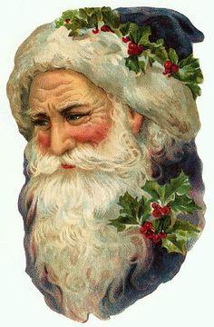 craft, vintag christma, vintage santas, santa claus, christmas ornaments, victorian santa, gift idea, vintag imag, print
