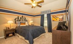 Boy's Bedroom by Lennar: Lakeside and Stonewall Collections