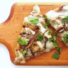 Mushroom Pappardelle with Taleggio Cheese