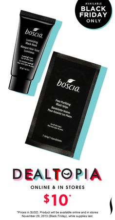 Black Friday Preview: Boscia Pore Perfection Set #Dealtopia #Sephora #blackfriday