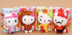 """One lucky winner will get 4 plushies, a complete set of the limited edition """"Hello Kitty Circus of Life"""" (was exclusively available at McDonald's Hong Kong)! All you need to do for a chance to win is: 1) Like our page at www.facebook.com/modes4u"""