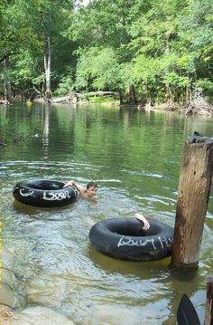 Country Living - Down by the river - old inner tubes are so much fun !! every kid who had one, was the envy of the swimming area
