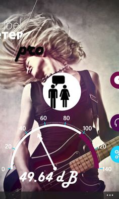 Decibel Meter for #WindowsPhone. This app uses your built in Mic to determine the intensity level of sounds it picks up. Simply start up Decibel Meter and it will automatically start to capture sounds. www.jojomobile.eu
