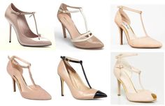 6 Classic Nude T-Strap Heels Perfect For Date Night #nyc #fashion