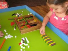 Cuisenaire Learning Rods - Hands-on learning and fine motor coordination while learn math