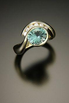 Blue Tourmaline On Pinterest Blue Green Emerald Cut And