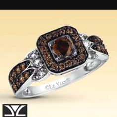 Levian chocolate diamonds :) :Love those chocolate diamonds!!!