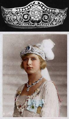 Diamond tiara (Princess Mary of England)