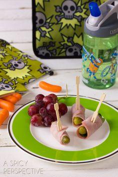 Simple Healthy Lunch Ideas | ASpicyPerspective... #backtoschool #lunch #schoollunch #lunchbox