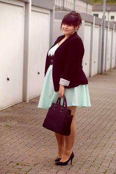 CONQUORE · The Fatshion Café   Fashion Plus Size Blog: Büro Quickie