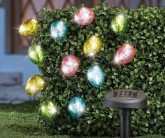 Solar Lighted Easter Eggs!