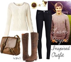 Liam Pyne inspired Outfit, created by abbytamase on Polyvore I like this one...