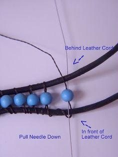 Tutorial for wrap bracelet