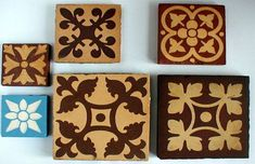 Victorian and Edwardian Geometric and Encaustic Tiled Floors #tiles