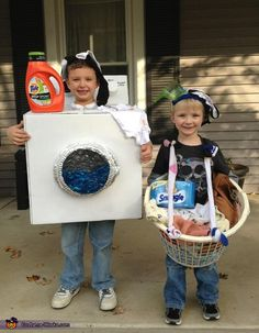 Dirty Laundry - Homemade costumes for kids