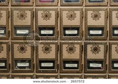 Antique Post Office Boxes
