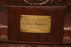 The Teddy Roosevelt Collection: Roosevelt's chair