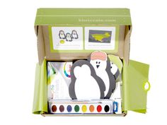 Kiwi Crate: Order this box for children ages 3 through 7, and you'll receive a set of art and science activities to help your kids explore the world around them.