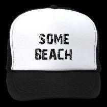Some Beach trucker hat