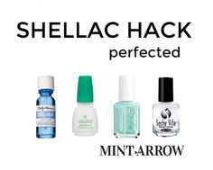Tricks, Diy Gel Manicure Removal, Shellac Hack, Gel Polish Diy, Diy