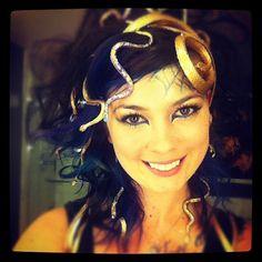 Last-minute #Halloween costume idea: Medusa