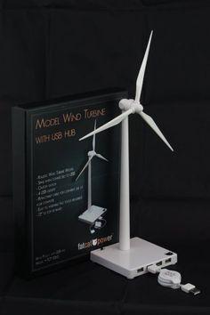 USB Desktop Wind Turbine