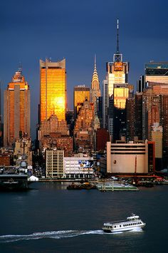 NYC. When the sun rises // Flickr by mrklark