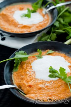 Sweet Potato Coconut Thai Curried Soup: Gluten Free and Vegan