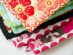 Turning a Corner & Making a Point : : Quilt Binding Tutorial
