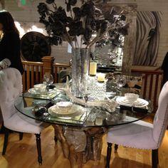 Stylish dining set for any apartment or loft! top idea, decor inspir, dine room