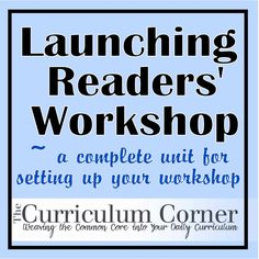 Launching Readers' Workshop..conference forms