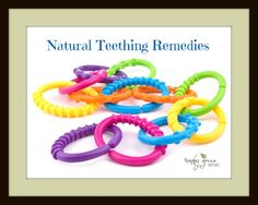 Natural Teething Remedies and Tooth Chart Printable