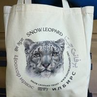 Celebrate 30 years of snow leopard conservation with our newest organic tote bag! Click on the photo to find out more!    Price: $15.00.    For other products from the Snow Leopard Trust, visit: http://www.snowleopard.org/shop/