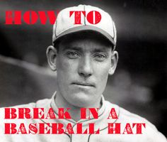 How to Break In a Fitted Baseball Hat | The Art of Manliness