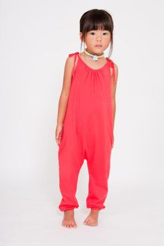 Organic Cotton Jumpsuit // at Darling Clementine