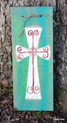 sweet little rustic cross