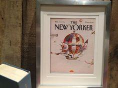 FRAMED ORIGINAL NEW YORKER COVER - FOR SALE NOW ON ETSY
