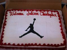 Our Michael Jordan Baby Shower Theme.